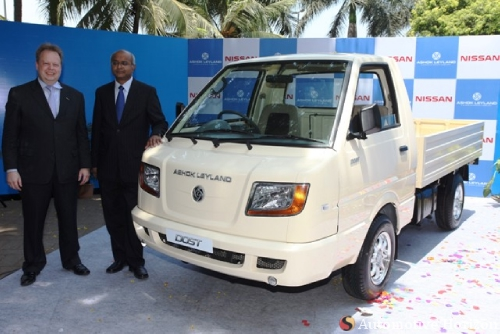 Ashok leyland launches dost lcv its not only the car segment but also the lcv segment which is facing the heat of immense competition with more players launching new models mozeypictures Image collections