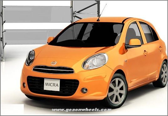 nissan hikes prices of micra small car. Black Bedroom Furniture Sets. Home Design Ideas