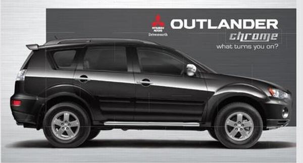 Mitsubishi Launches Outlander Chrome
