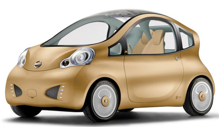 Nissan small car -