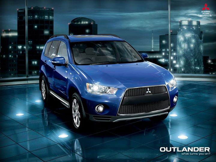 Mitsubishi Outlander 7 seater