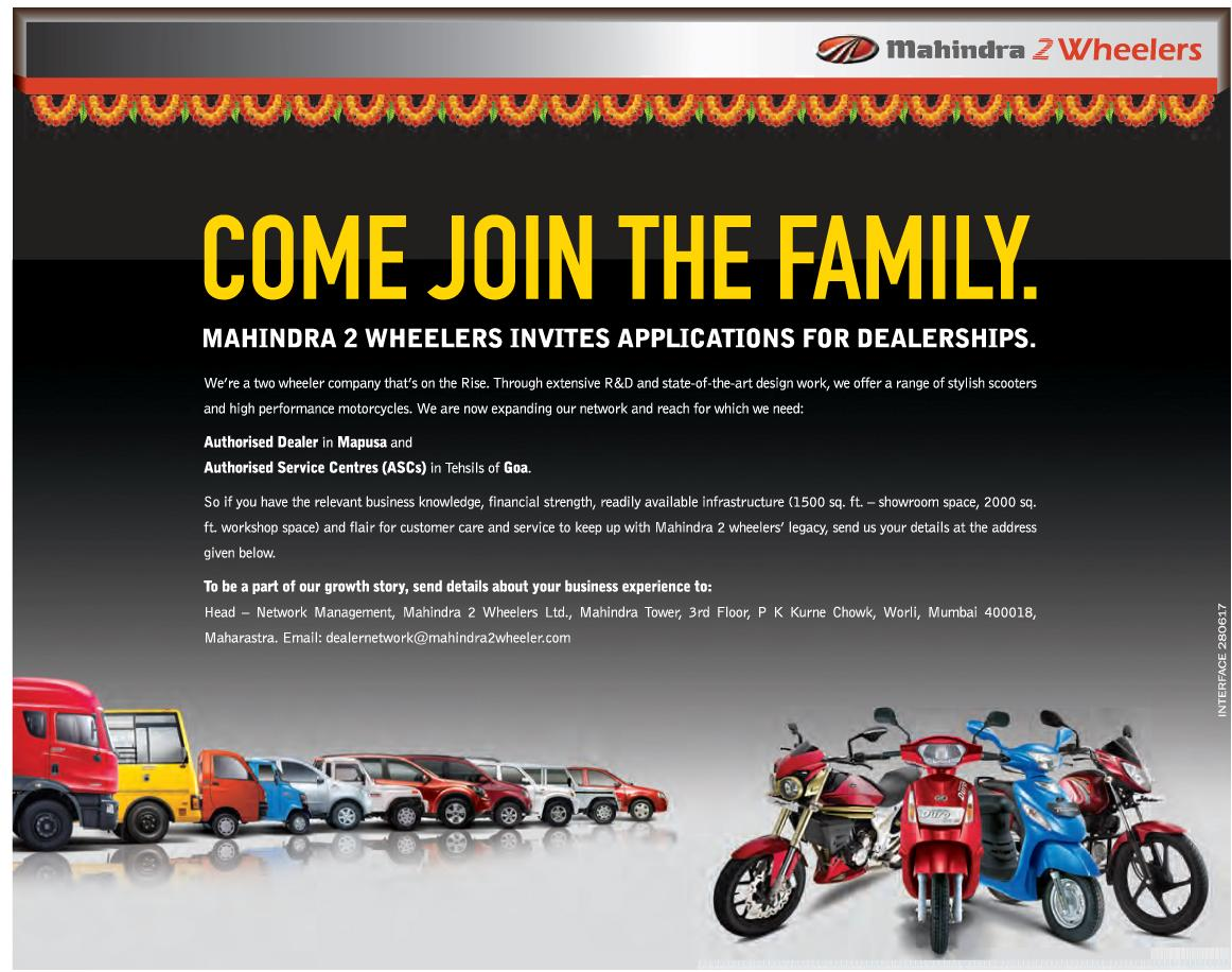 mahindra looking for dealers. Black Bedroom Furniture Sets. Home Design Ideas