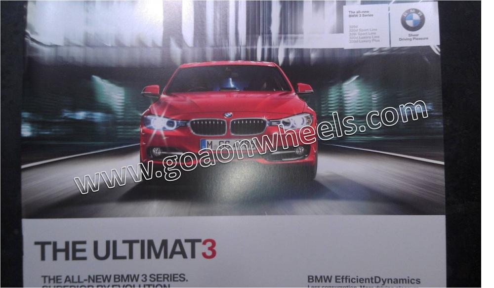 New BMW 3 Series Brochure 1