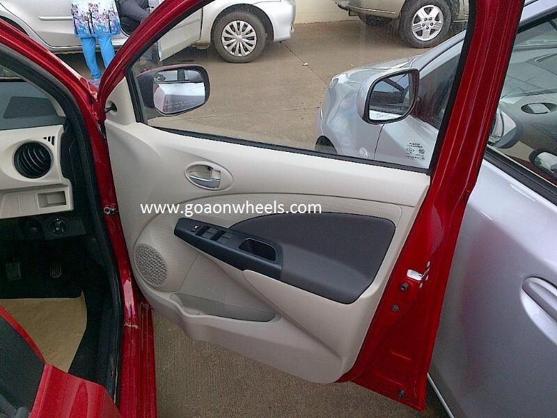 Toyota Etios Biege Interiors 3