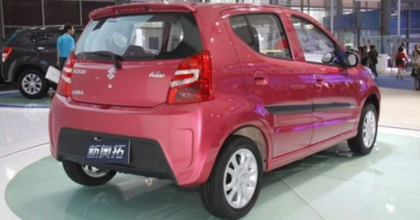 Maruti Alto Indian A Star Facelift Launched In China