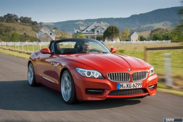 BMW Z4 Roadster Facelift Front