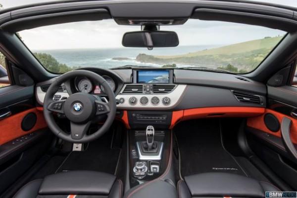 BMW Z4 Roadster Facelift Interiors