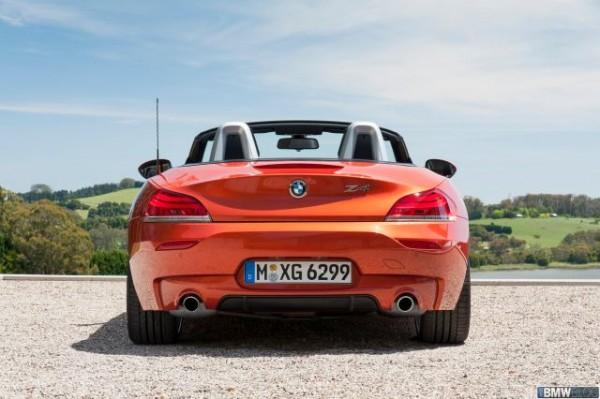 BMW Z4 Roadster Facelift Rear