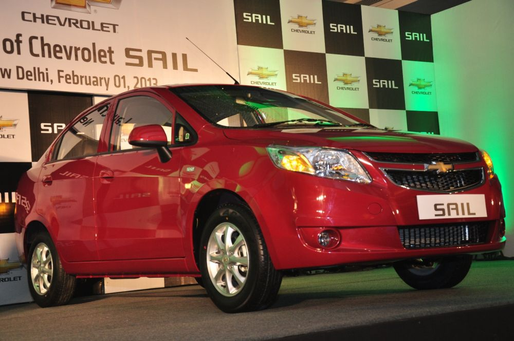 Chevrolet Sail Launch Image