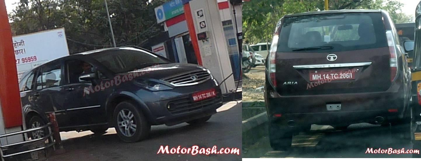 Tata Motors Aria Facelift