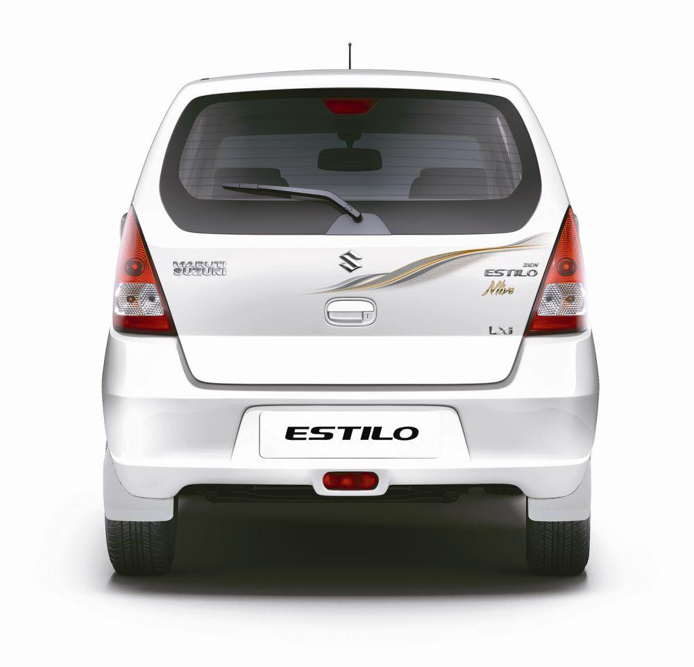 Maruti Suzuki limited edition Estilo Nlive rear