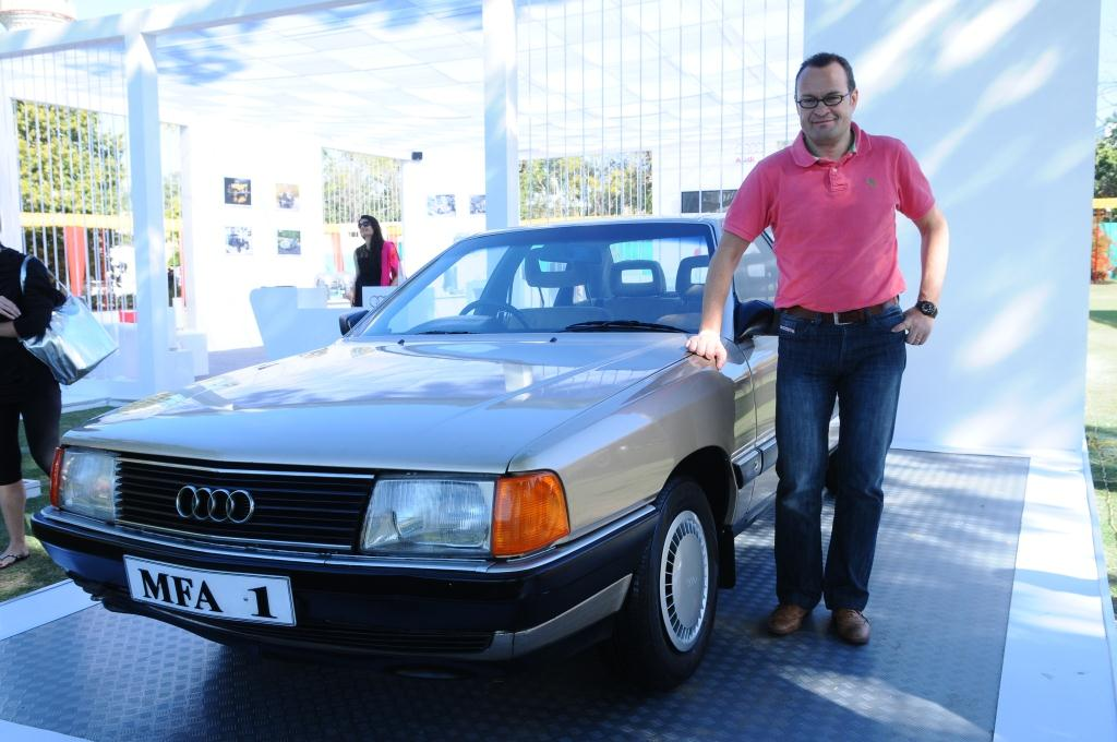 Audi Celebrates Th Vintage Classic Car Rally In The Pink City - Vintage audi cars