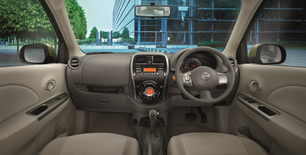 Suzuki Car Dealership >> Nissan March dashboard