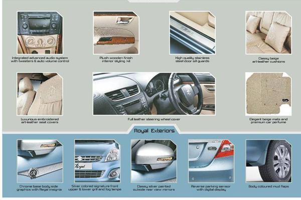 Maruti Suzuki Regal features