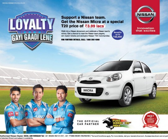 Micra at special price