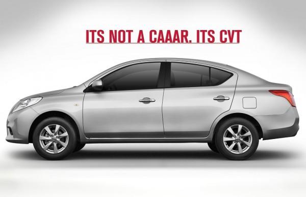 Nissan Sunny CVT 3