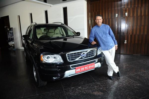 Volvo Cars announces it's 1st Brand Ambassador in India - Ace Golfer Jeev Milkha Singh