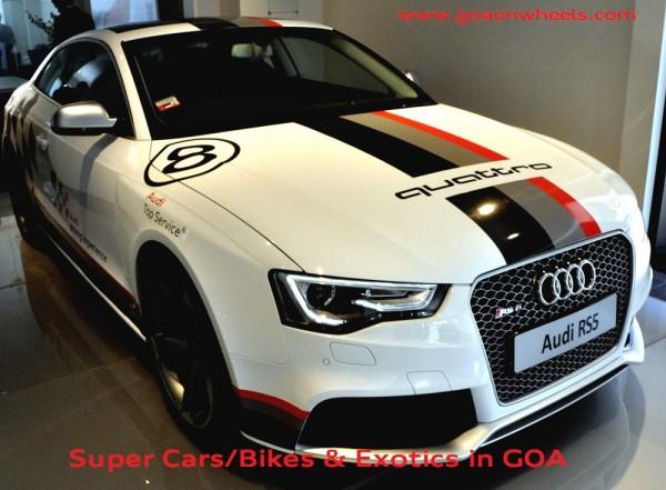 Audi Sports Car Experience in Goa