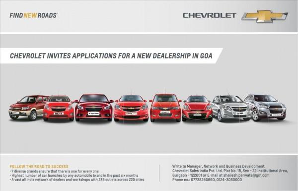Chevrolet Dealer application