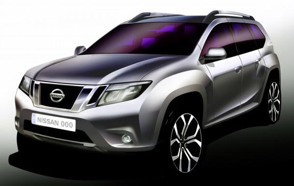 Nissan Terrano Sketch-June 11