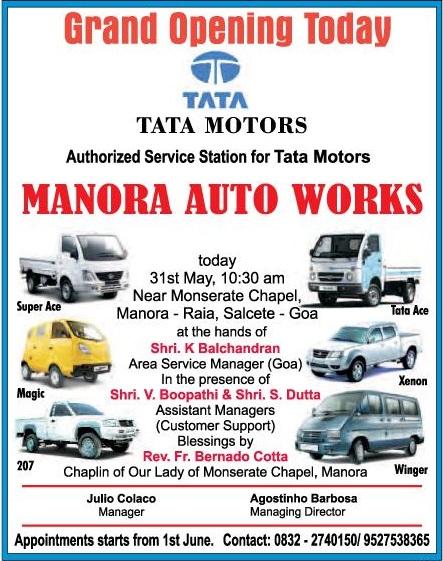 Tata Motors Goa