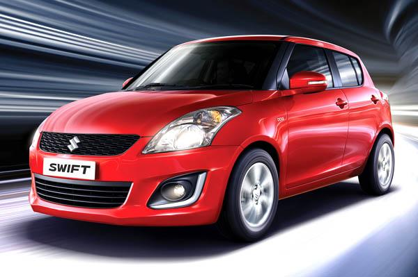 Maruti Swift Facelift official image
