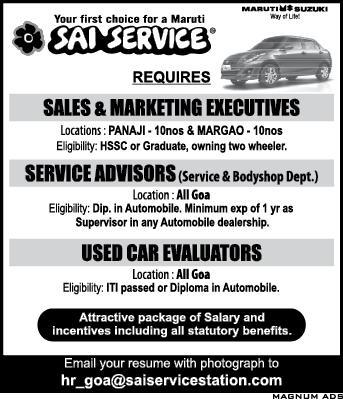 Sai service jobs