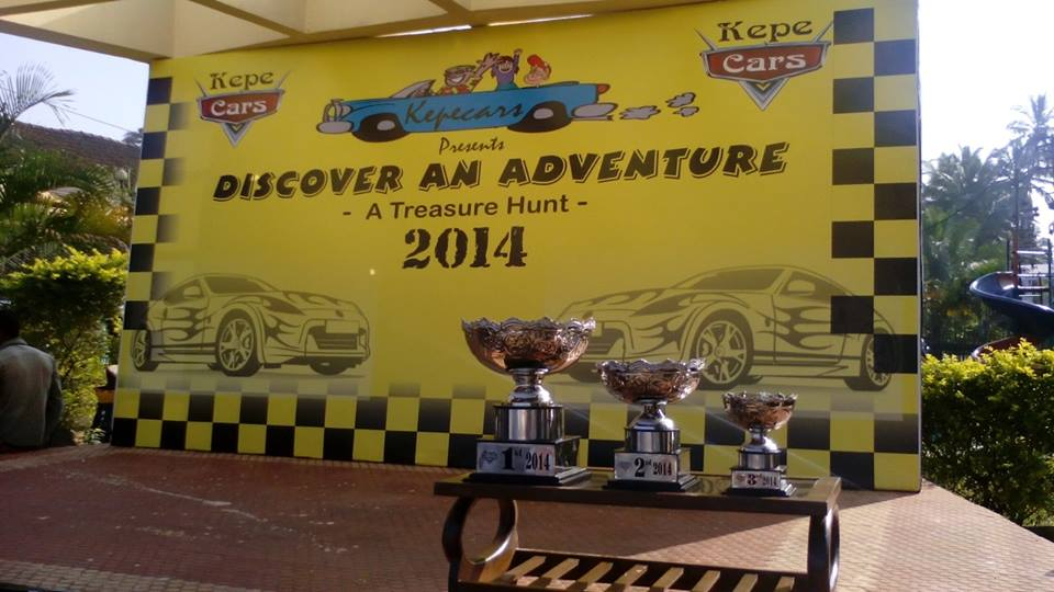 Discover an adventure - a treasure hunt by kepecars