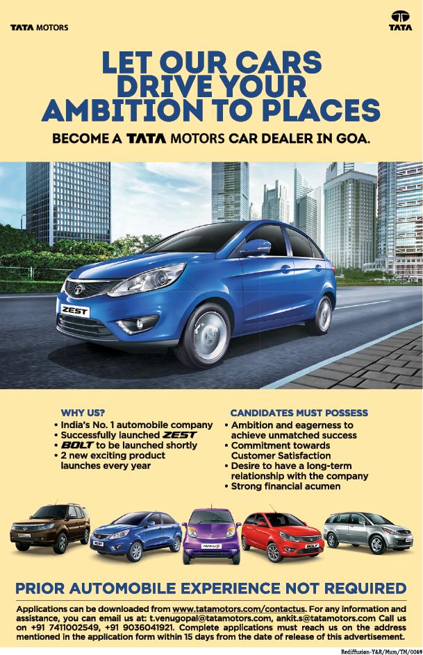 Tata dealers in goa