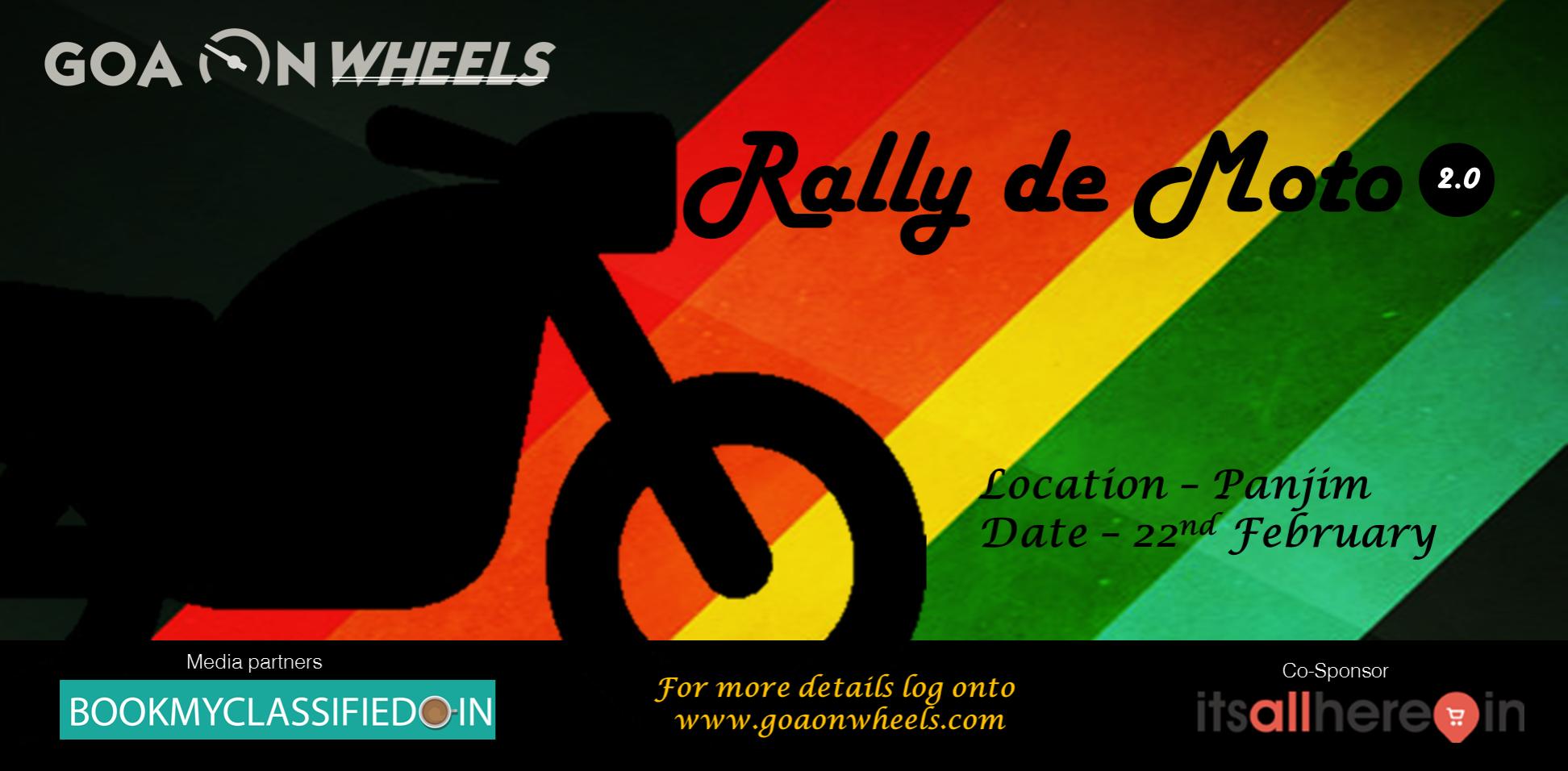 rally de moto poster 2