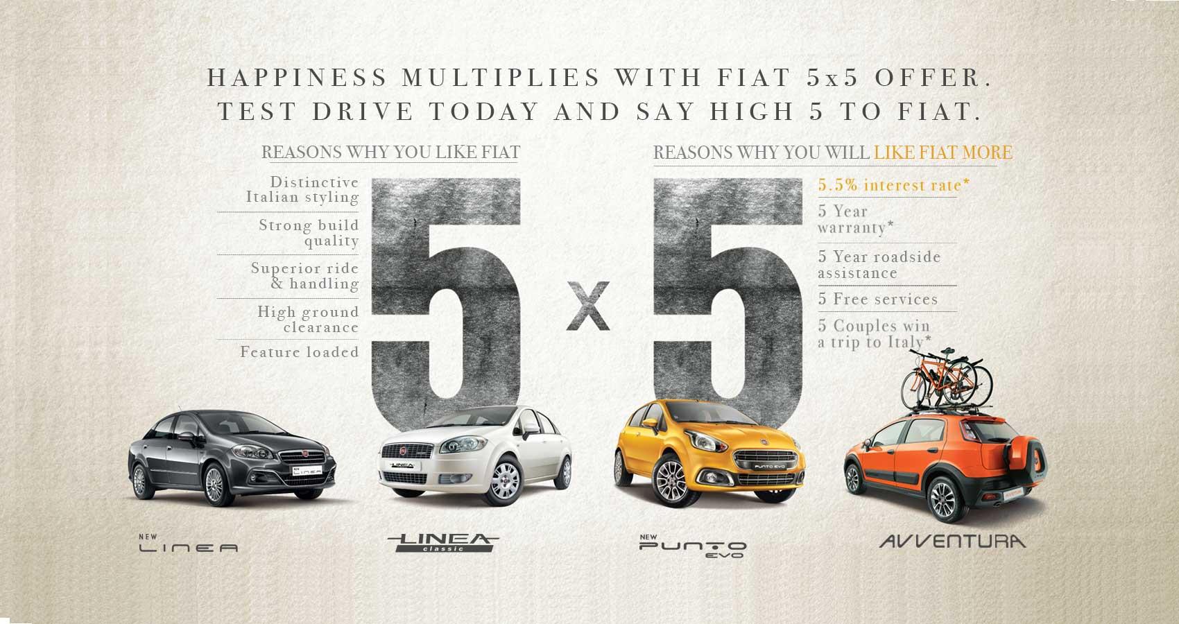 5x5 deals