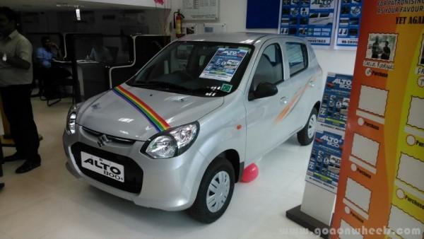 Maruti Suzuki Launches Limited Edition Alto - Graphics for alto car