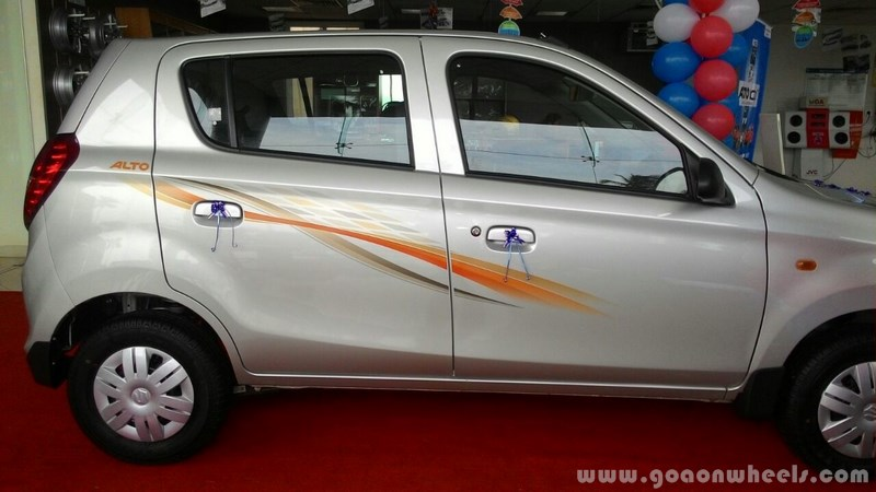 Maruti Alto 800 Body Graphics