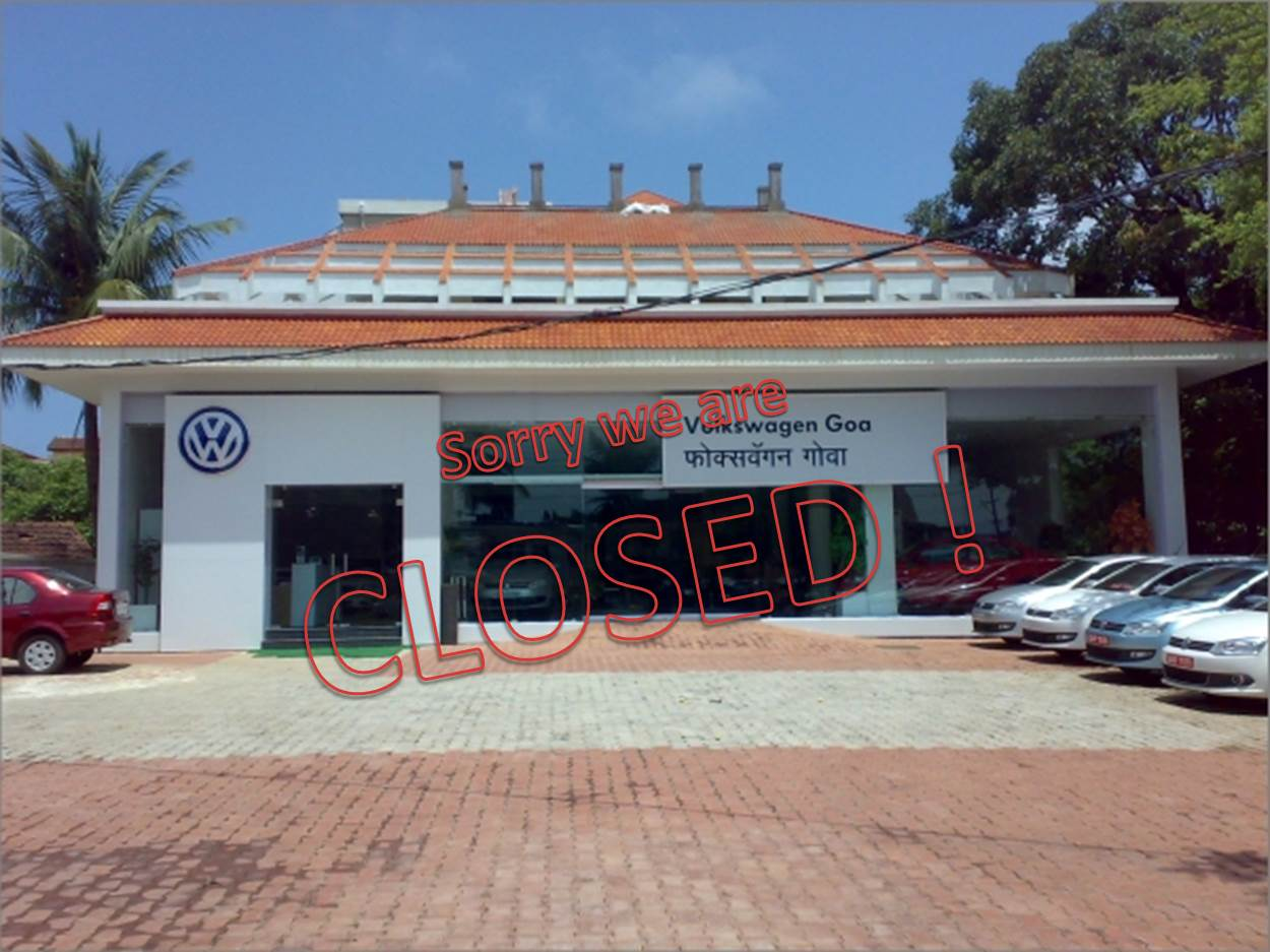 WW-Goa-dealer Closed