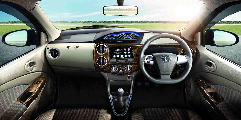 Toyota Etios Xclusive Edtion 2015 Dashboard