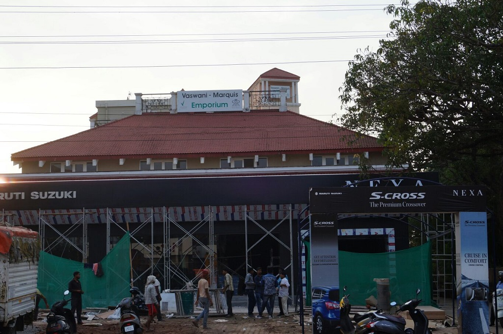 Maruti Suzuki Nexa Dealership Coming Up In Porvorim Goa