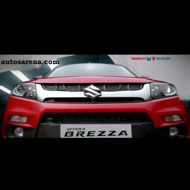 Maruti Suzuki Vitara Breza front facia