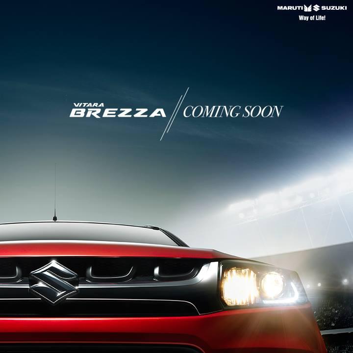 Maruti Suzuki Vitara Breza teaser 1