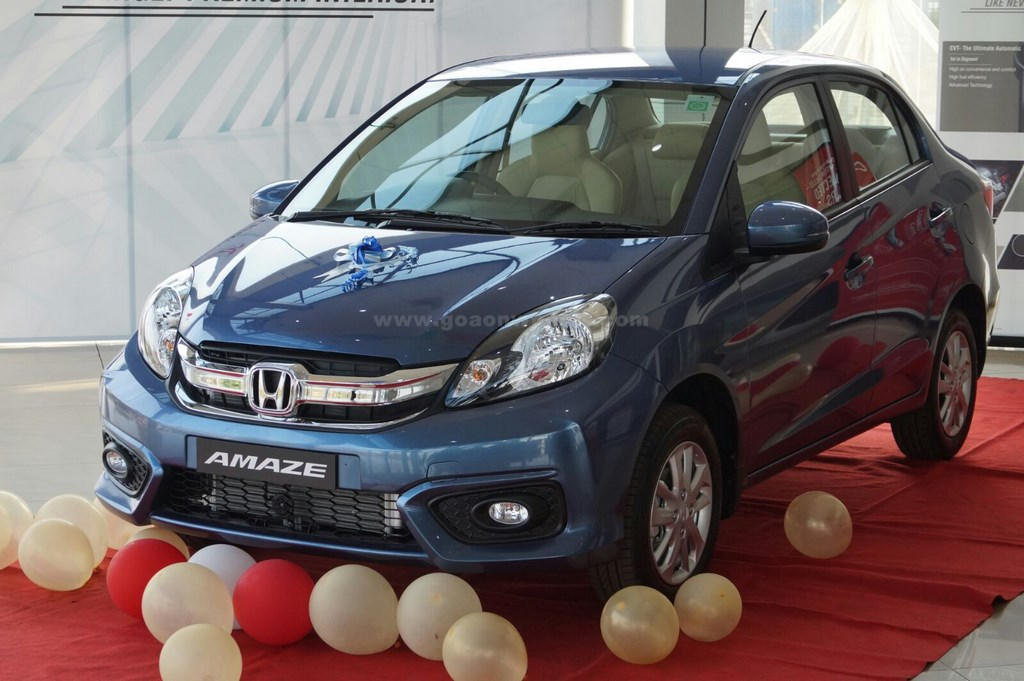 Honda Amaze facelift (12)
