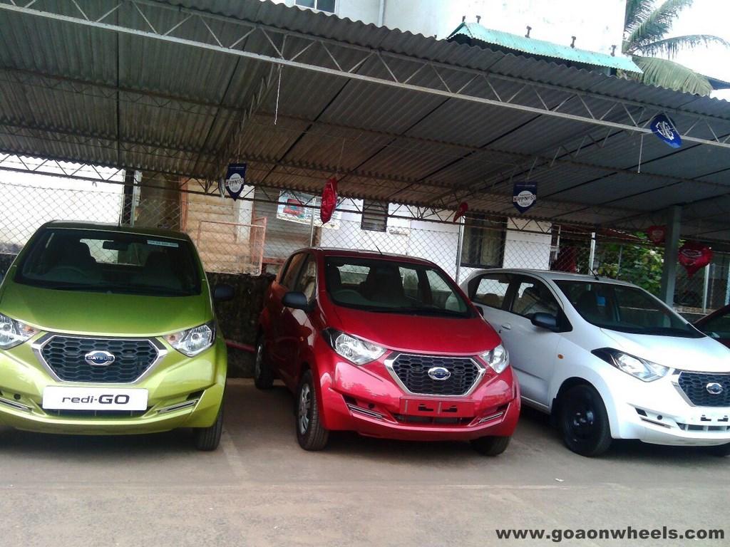 Datsun Redi-Go Goa line