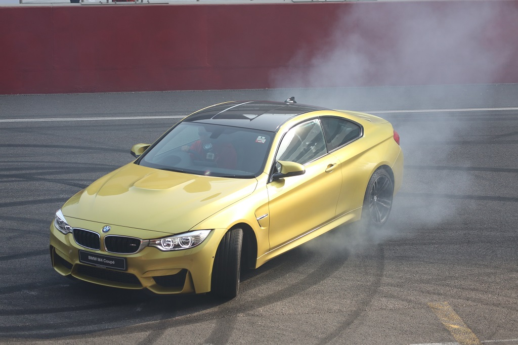 01. The BMW M4 Coupe in action