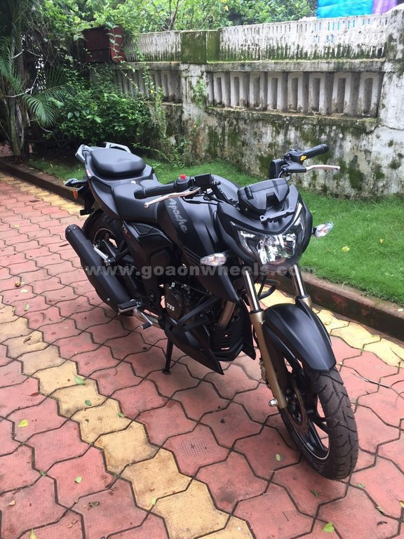 TVS Apache RTR 200 4V launched in Goa |