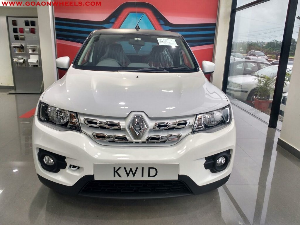 Renault Kwid Customized Looks Stunning Now Available In Goa