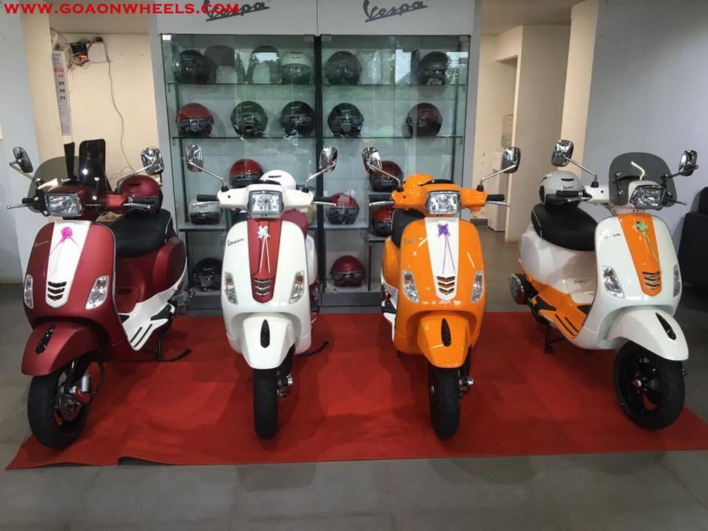 Cool Customised Vespa Scooters By K V Mototech