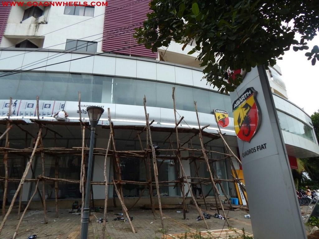 New Fiat dealership in Goa Quadros FIAT 2
