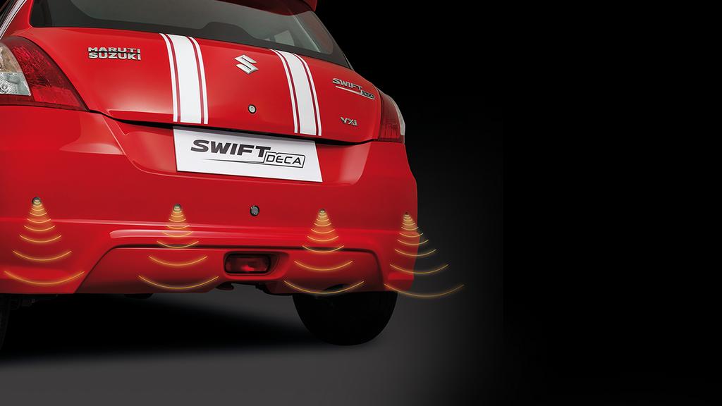 Maruti Swift Deca Edition Reverse-Parking-Asst