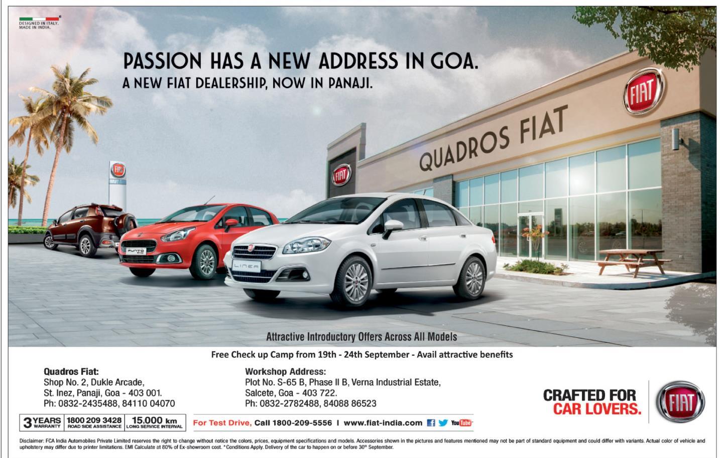 chairman rajeev fiat india president rio mr pvt limited premier doshi maitreya md ltd agreement automobiles multijet ceo kapoor