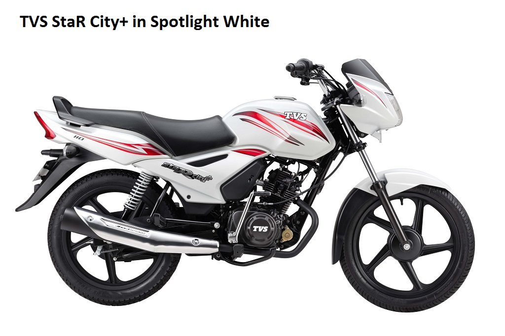 tvs-star-citynew-white-color