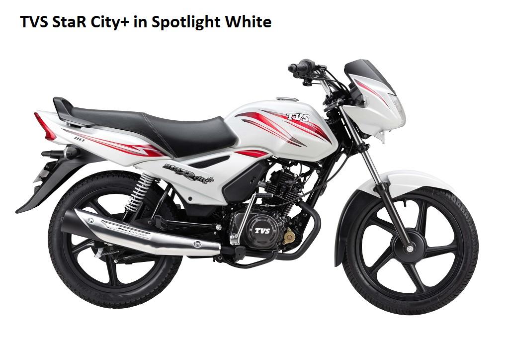 tvs-star-citynew-white-color