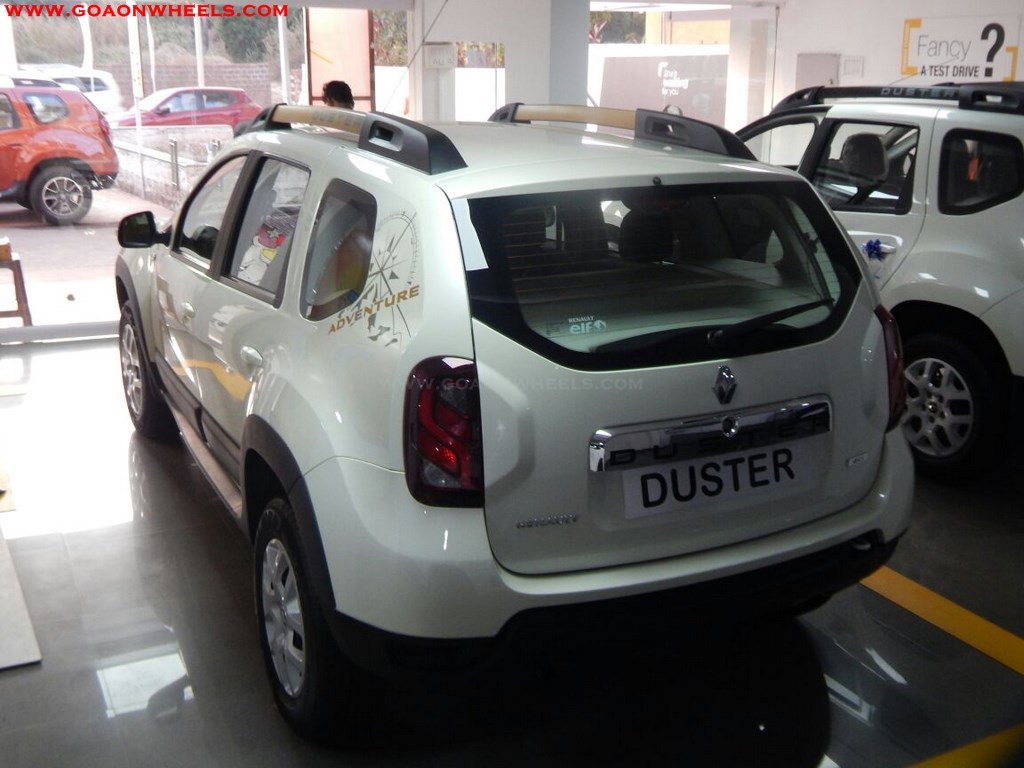 renault duster adventure edition launches in goa. Black Bedroom Furniture Sets. Home Design Ideas